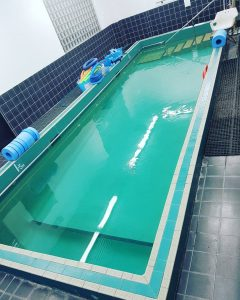 Hydrotherapy pool at Dr7PhysioandPod