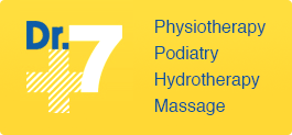 Dr7 Physiotherapy Podiatry Hydrotherapy Massage logo