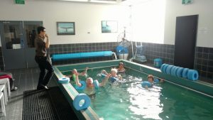 Arthritis class instructed by one of our physios