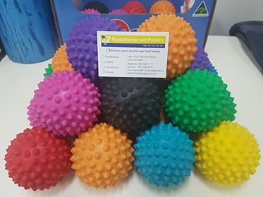 Spiky Massage Balls at Dr7 Physiotherapy and Podiatry
