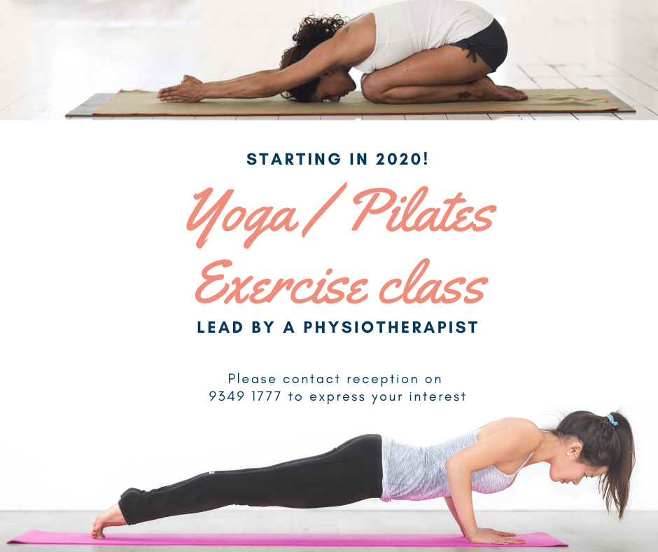 Yoga/Pilates class Dr7 Physiotherapy